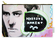 Carry-all Pouch featuring the photograph Decisive Moment by Art Block Collections