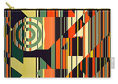 Deco Abstract 1  Carry-all Pouch