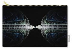 Deco And Diamonds Carry-all Pouch by Lea Wiggins