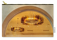 Carry-all Pouch featuring the photograph Deco Arches by Melinda Ledsome