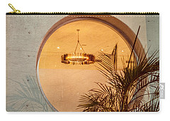Carry-all Pouch featuring the photograph Deco Circles by Melinda Ledsome
