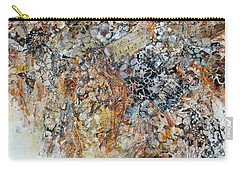 Carry-all Pouch featuring the painting Decomposition  by Joanne Smoley