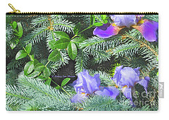 Carry-all Pouch featuring the photograph Decorating For Spring by Nancy Lee Moran