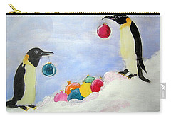 Decorating Penguins Carry-all Pouch