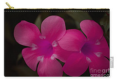 Carry-all Pouch featuring the photograph Decorative Floral A62917 by Mas Art Studio