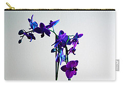 Carry-all Pouch featuring the photograph Decorative Orchid Photo A6517 by Mas Art Studio