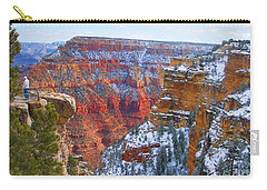 Carry-all Pouch featuring the photograph Deep And Wide by Roberta Byram