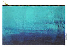 Deep Blue Sea Carry-all Pouch by Nicole Nadeau