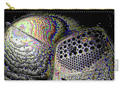 Carry-all Pouch featuring the digital art Deep Dark by Ron Bissett