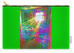 Carry-all Pouch featuring the digital art Deep Dream by Doug Schramm