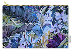 Carry-all Pouch featuring the painting Deep Dreams by Mindy Newman