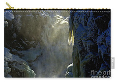 Carry-all Pouch featuring the photograph Deep by Elfriede Fulda