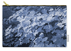 Deep In The Blue Forest Carry-all Pouch by Steve Gravano