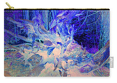 Carry-all Pouch featuring the photograph Deep In The Forest by Joyce Dickens