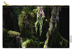 Carry-all Pouch featuring the photograph Deep In The Forest by Lori Seaman