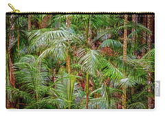 Carry-all Pouch featuring the photograph Deep In The Forest, Tamborine Mountain by Dave Catley