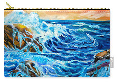 Carry-all Pouch featuring the painting Deep by Jenny Lee