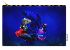 Deep Oceans Carry-all Pouch