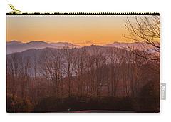 Deep Orange Sunrise Carry-all Pouch
