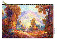 Radiant Peace, Colors Of Fall Carry-all Pouch