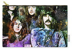Deep Purple Together Carry-all Pouch