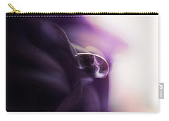 Deep Purple Velvet Carry-all Pouch