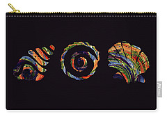 Deep Sea Shell Trio Carry-all Pouch