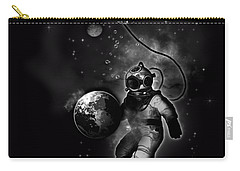 Deep Sea Space Diver Carry-all Pouch
