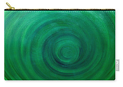 Deep Sea Spiral Carry-all Pouch