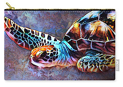 Deep Sea Trutle Carry-all Pouch