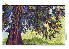 Deep Shade In The Sunken Garden Carry-all Pouch