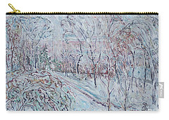 Deep Snow In Strastnoy Boulevard Carry-all Pouch