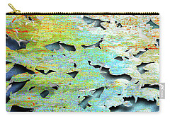 Carry-all Pouch featuring the mixed media Deep by Tony Rubino