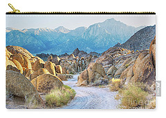 Deep Within The Alabama Hills Carry-all Pouch