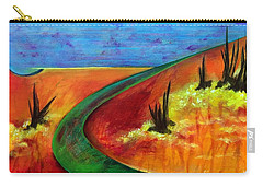 Deeper Than It Seems Carry-all Pouch by Elizabeth Fontaine-Barr