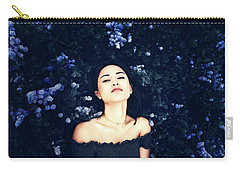 Deepest Blue Carry-all Pouch