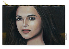 Deepika Padukone - The Enigmatic Expression Carry-all Pouch