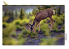 Deer At Crater Lake, Oregon Carry-all Pouch