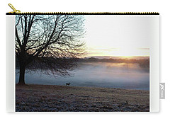Deer At Dawn Carry-all Pouch