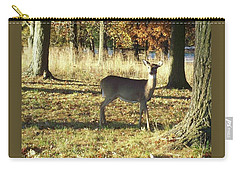 Deer At Valley Forge Carry-all Pouch