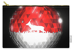 Deer Bauble - Frame 10 Carry-all Pouch