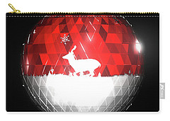 Deer Bauble - Frame 103 Carry-all Pouch