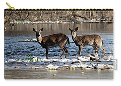Deer Crossing 1 Carry-all Pouch