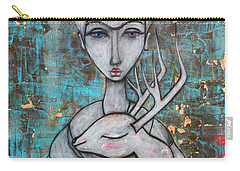 Deer Frida Carry-all Pouch
