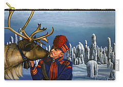 Deer Friends Of Finland Carry-all Pouch