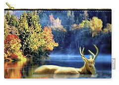 Deer In Autumn Carry-all Pouch