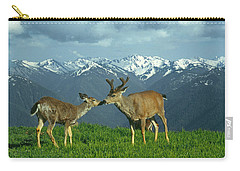 Ma-181-deer In Love  Carry-all Pouch