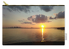 Deer Island Sunset Carry-all Pouch
