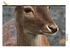 Deer Portrait Carry-all Pouch
