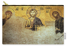 Deesis Mosaic Hagia Sophia-christ Pantocrator-judgement Day Carry-all Pouch